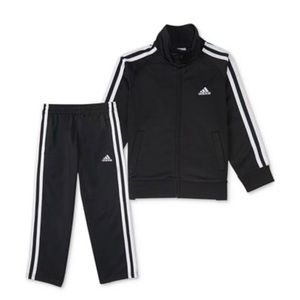Adidas tricolor tracksuit